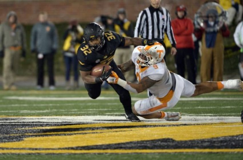 Mizzou Football Running Back Russel Hansbrough - Mandatory Credit: Denny Medley-USA TODAY Sports