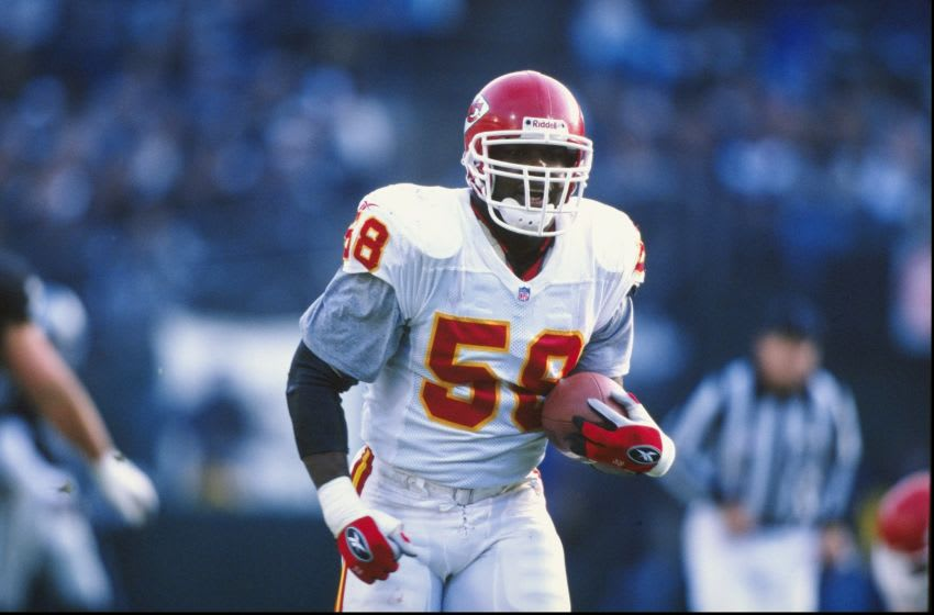 Kansas City Chiefs linebacker Derrick Thomas