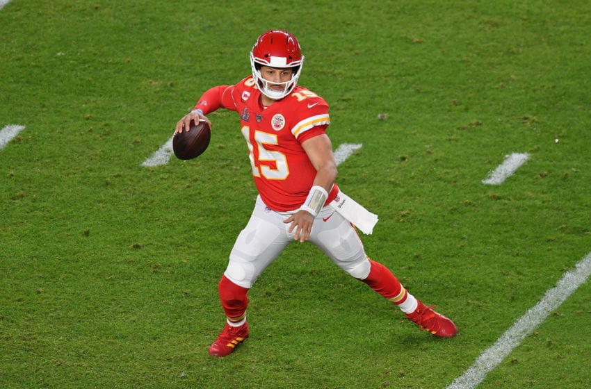 Kansas City Chiefs Patrick Mahomes - (Photo by ANGELA WEISS/AFP via Getty Images)