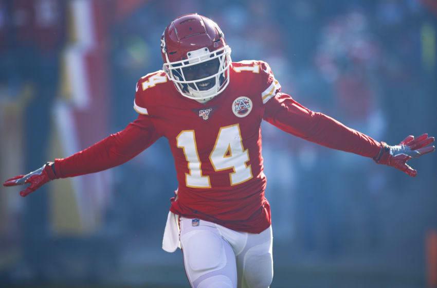 Sammy Watkins #14 of the Kansas City Chiefs (Photo by Joe Robbins/Getty Images)