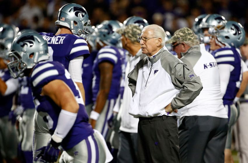 Head coach Bill Snyder of K-State football (Photo by Jamie Squire/Getty Images)