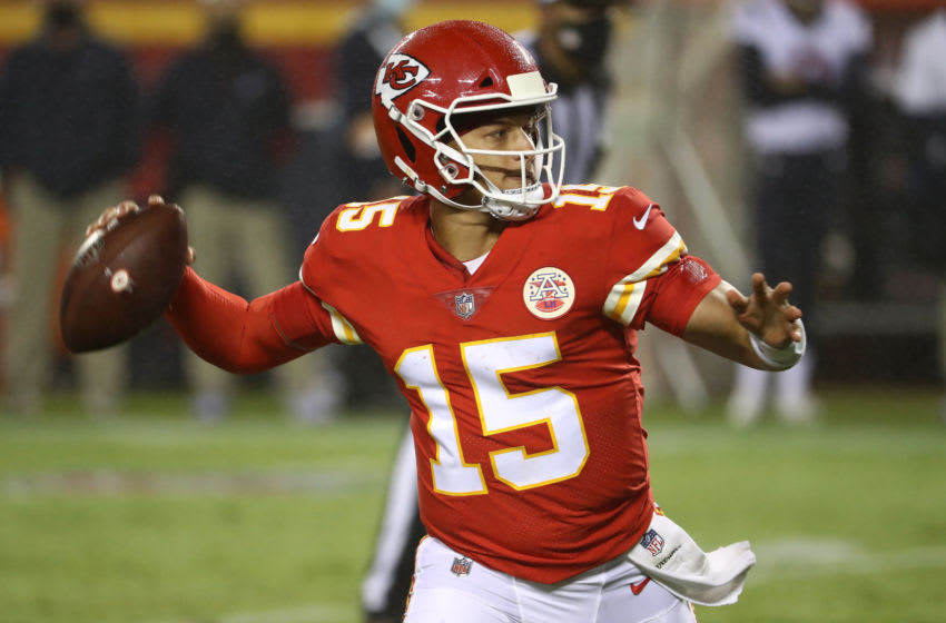 Patrick Mahomes #15 of the Kansas City Chiefs (Photo by Jamie Squire/Getty Images)
