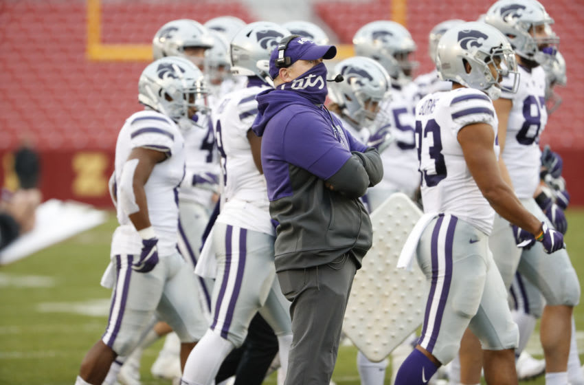 Head coach Chris Klieman of the Kansas State Wildcats (Photo by David K Purdy/Getty Images)