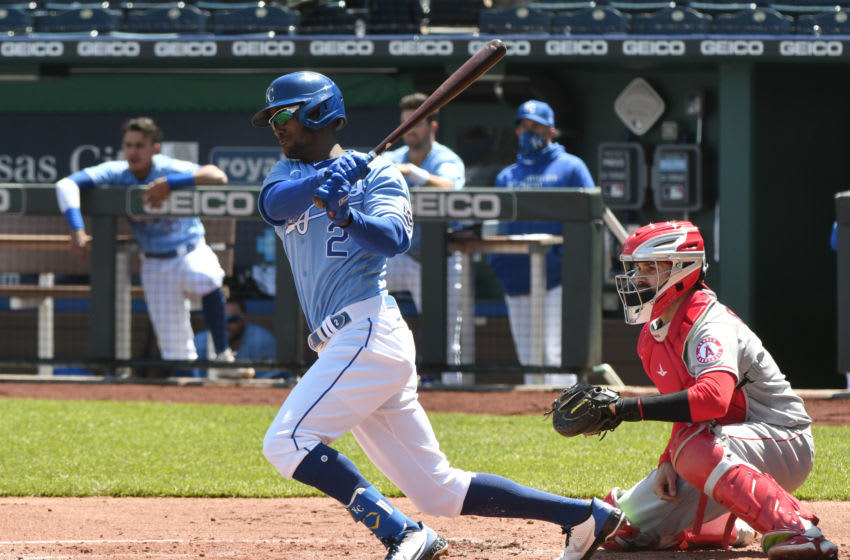 Michael A. Taylor #2 of the Kansas City Royals (Photo by Ed Zurga/Getty Images)