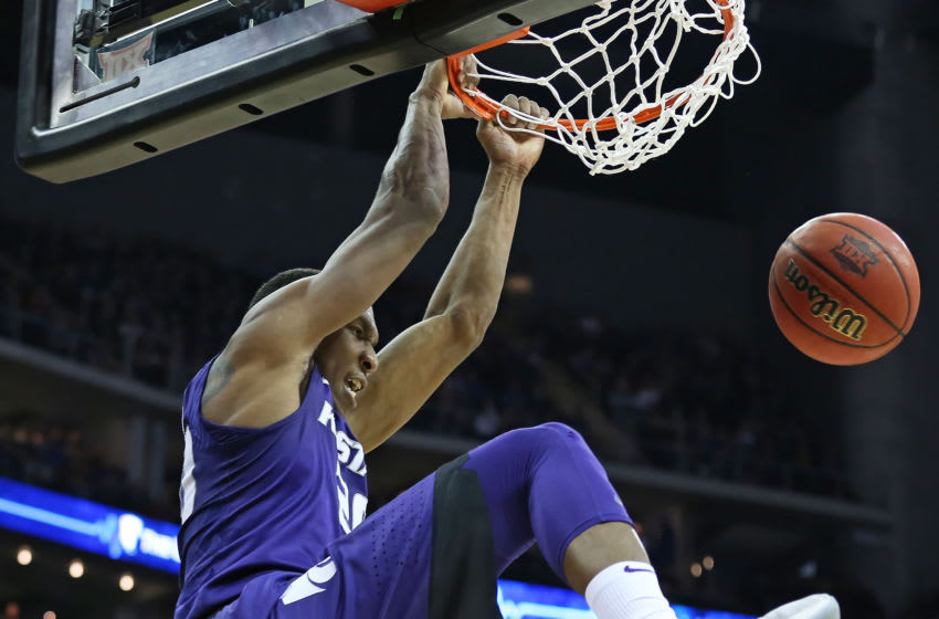 Kansas State Wildcats forward Xavier Sneed (20) - (Photo by Scott Winters/Icon Sportswire via Getty Images)