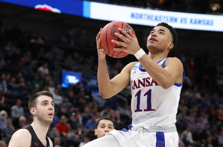 Devon Dotson #11 of the Kansas Jayhawks - (Photo by Patrick Smith/Getty Images)