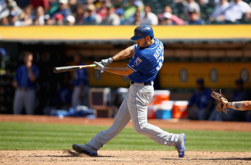Eric Hosmer #35 of the Kansas City Royals - (Photo by Ezra Shaw/Getty Images)