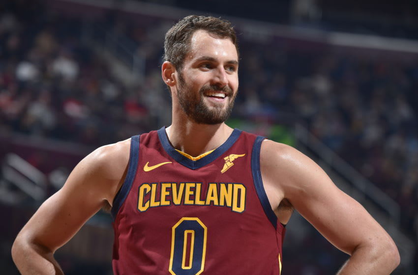 Cleveland Cavaliers big Kevin Love (Photo by David Liam Kyle/NBAE via Getty Images)