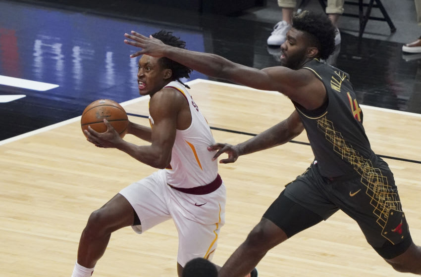 Cleveland Cavaliers guard Collin Sexton drives. (Photo by Nuccio DiNuzzo/Getty Images)