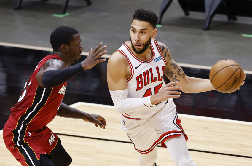 Denzel Valentine, Chicago Bulls. (Photo by Michael Reaves/Getty Images)