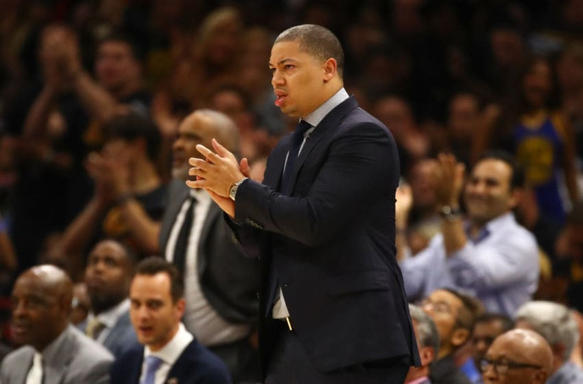 Cleveland Cavaliers Tyronn Lue (Photo by Gregory Shamus/Getty Images)