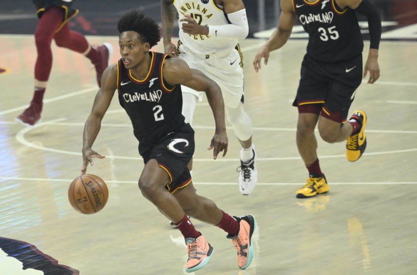 Cleveland Cavaliers guard Collin Sexton looks to make a play. (Photo by David Richard-USA TODAY Sports)