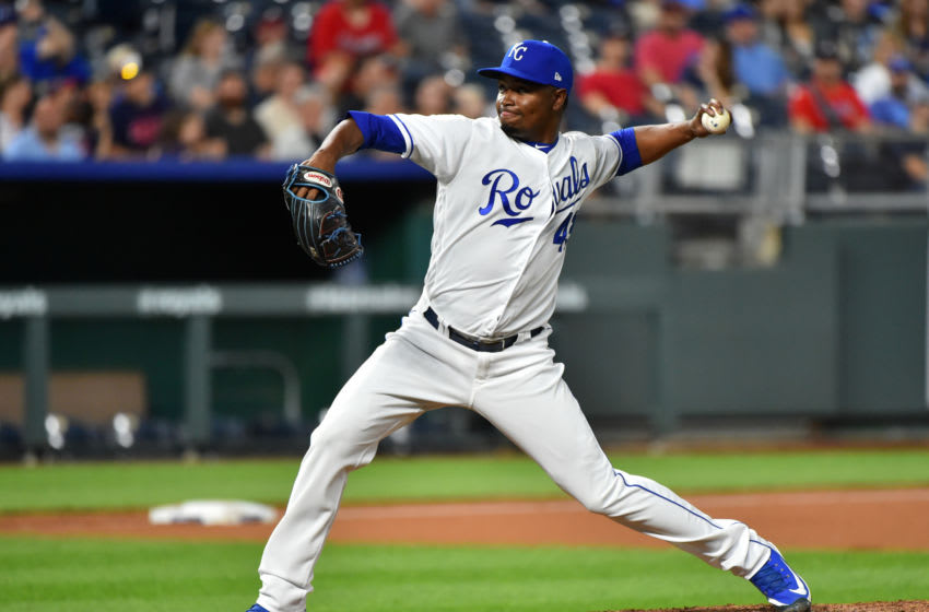 KC Royals, Randy Rosario (Photo by Ed Zurga/Getty Images)