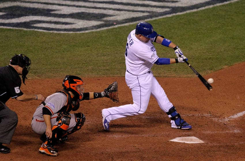 KC Royals, Billy Butler (Photo by Ed Zurga/Getty Images)