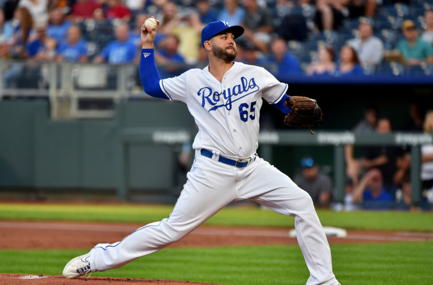 Kansas City Royals, Jakob Junis (Photo by Ed Zurga/Getty Images)