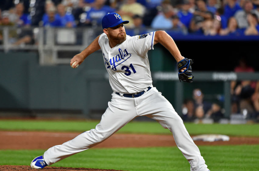 KC Royals, Ian Kennedy (Photo by Ed Zurga/Getty Images)