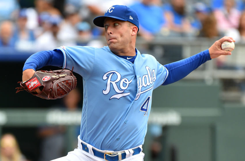 KC Royals, Danny Duffy, Top pitcher 2016 (Photo by Ed Zurga/Getty Images)