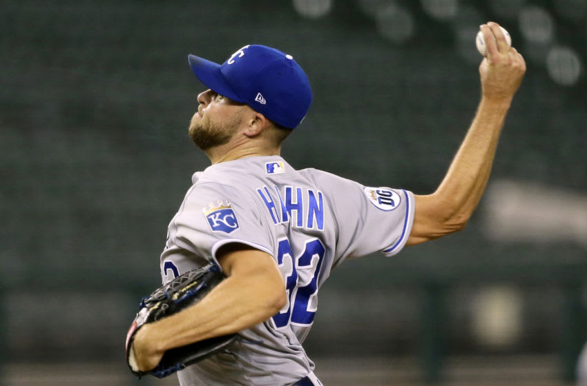 KC Royals, Jesse Hahn (Photo by Duane Burleson/Getty Images)