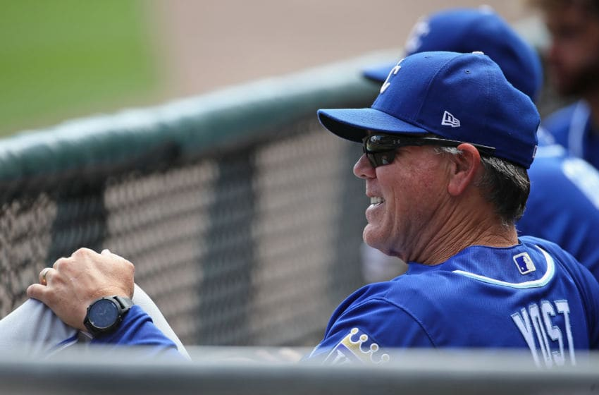 CHICAGO, IL - AUGUST 13: Manager Ned Yost