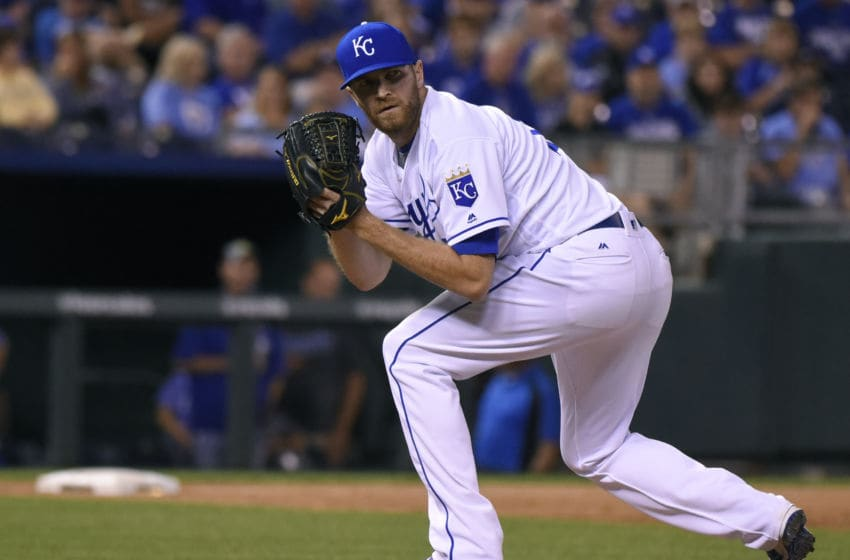 KANSAS CITY, MO - SEPTEMBER 3: Wade Davis