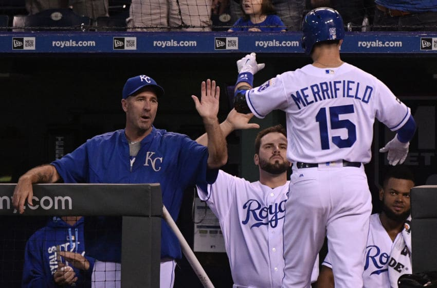 KANSAS CITY, MO - AUGUST 29: Whit Merrifield