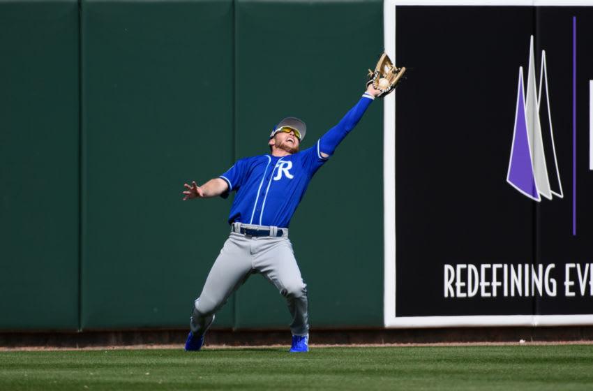 KC Royals, Brett Phillips (Photo by Jennifer Stewart/Getty Images)