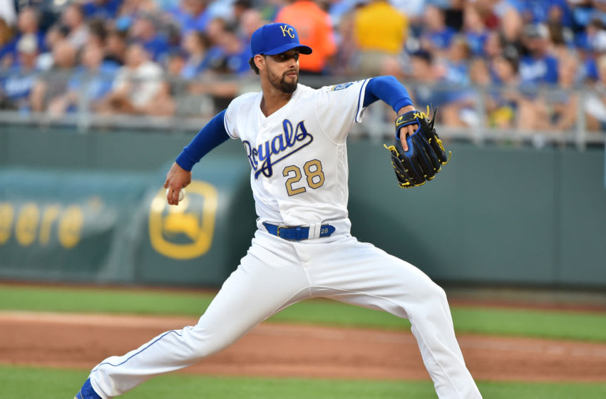 KC Royals, Jorge Lopez (Photo by Ed Zurga/Getty Images)