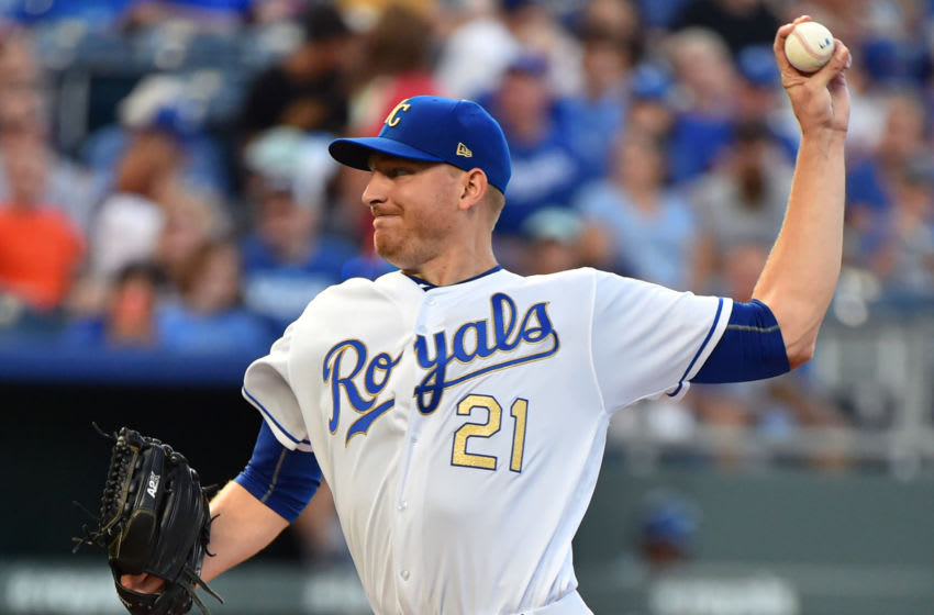 KC Royals, Mike Montgomery (Photo by Ed Zurga/Getty Images)