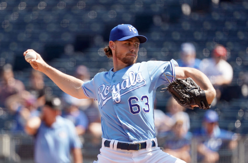 KC Royals, Josh Staumont (Photo by Jamie Squire/Getty Images)
