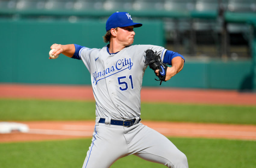 KC Royals, Brady Singer (Photo by Jason Miller/Getty Images)