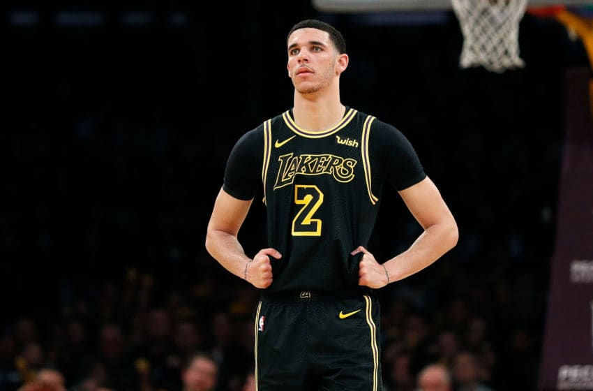 Los Angeles Lakers, Lonzo Ball (Photo by Josh Lefkowitz/Getty Images)