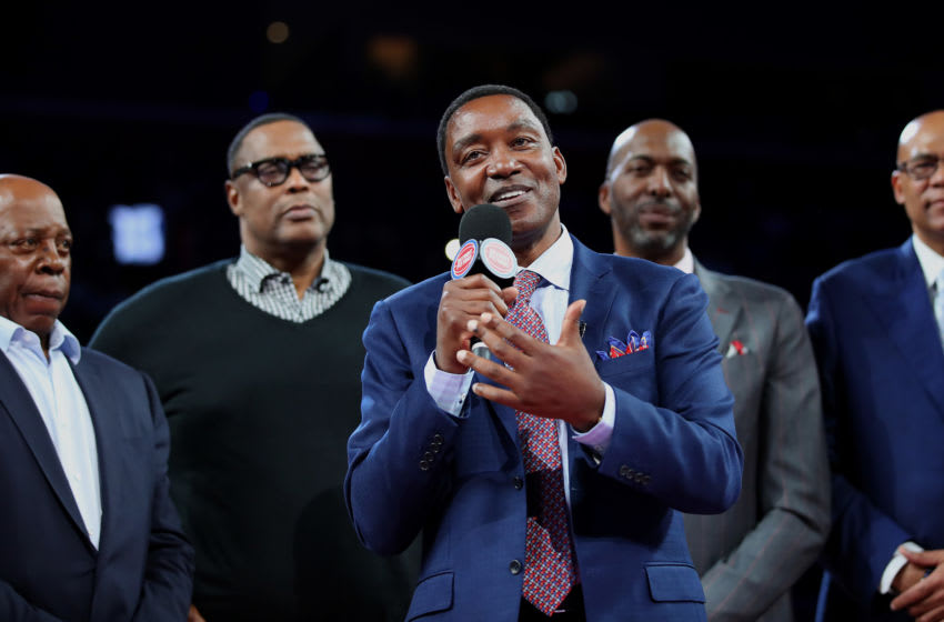 Isiah Thomas, Los Angeles Lakers (Photo by Gregory Shamus/Getty Images)