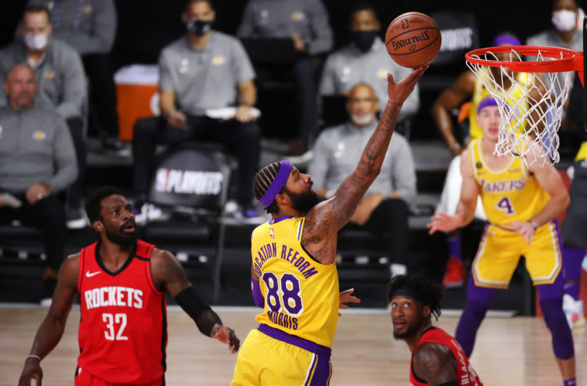 Markieff Morris #88 of the Los Angeles Lakers (Photo by Michael Reaves/Getty Images)