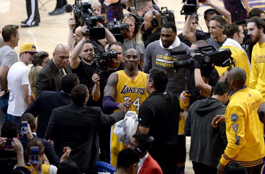 (Photo by Kevork Djansezian/Getty Images) - Kobe Bryant