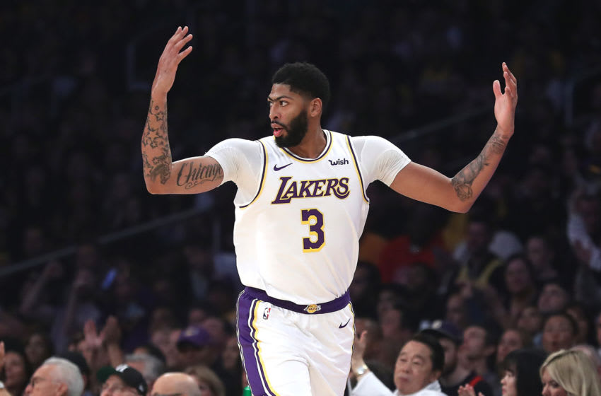 (Photo by Sean M. Haffey/Getty Images) - Los Angeles Lakers Anthony Davis