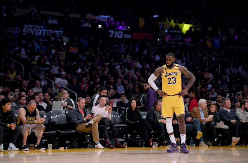 (Photo by Harry How/Getty Images) - Los Angeles Lakers LeBron James