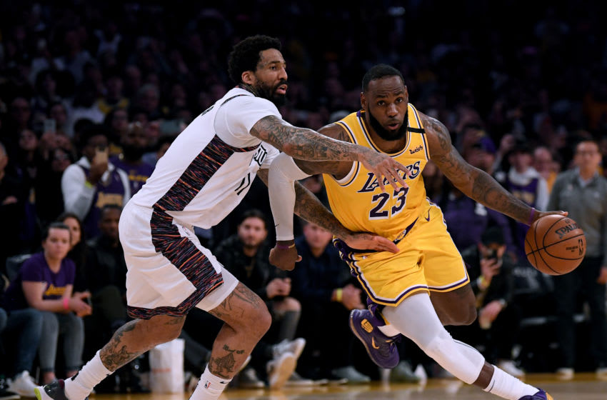 LeBron James (Photo by Harry How/Getty Images) NOTE TO USER: User expressly acknowledges and agrees that, by downloading and or using this photograph, User is consenting to the terms and conditions of the Getty Images License Agreement.