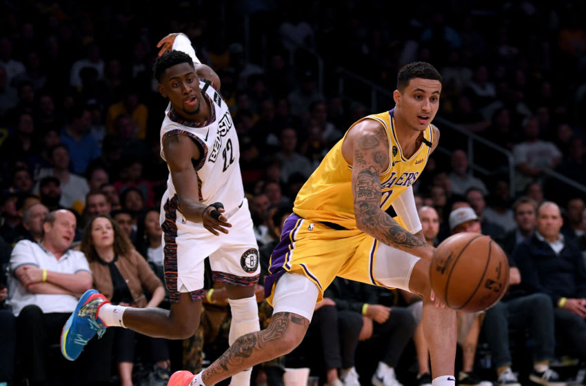 Los Angeles Lakers (Photo by Harry How/Getty Images) NOTE TO USER: User expressly acknowledges and agrees that, by downloading and or using this photograph, User is consenting to the terms and conditions of the Getty Images License Agreement.