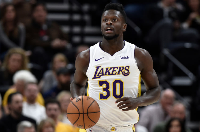 Los Angeles Lakers (Photo by Gene Sweeney Jr./Getty Images) *** Local Caption *** Julius Randle
