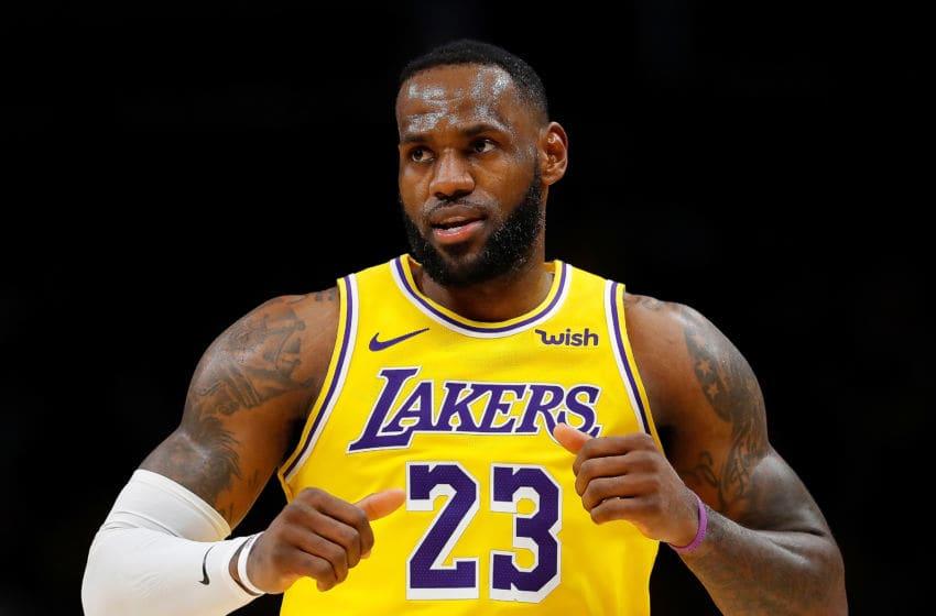 LeBron James, LA Lakers (Photo by Kevin C. Cox/Getty Images)