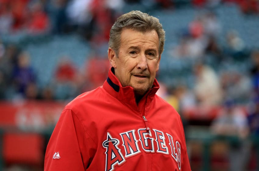ANAHEIM, CALIFORNIA - APRIL 09: Owner Arte Moreno of the Los Angeles Angels of Anaheim walks off the field prior to a baseball game between the Los Angeles Angels of Anaheim and Texas Rangers at Angel Stadium of Anaheim on April 9, 2016 in Anaheim, California. (Photo by Sean M. Haffey/Getty Images)