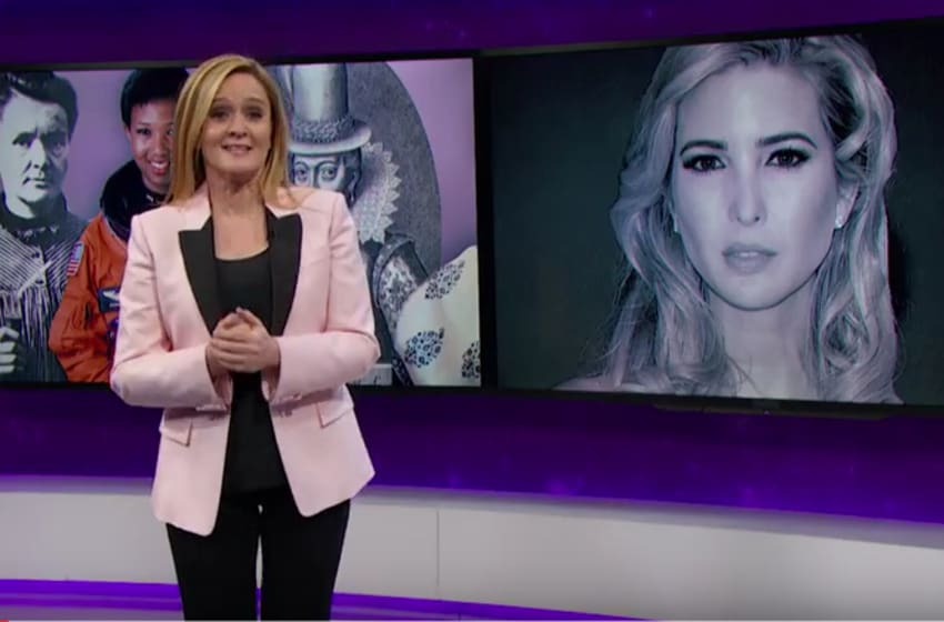 Full Frontal with Samantha Bee - Ivanka Trump - Courtesy of TBS