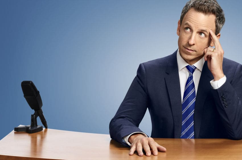 LATE NIGHT WITH SETH MEYERS -- Pictured: