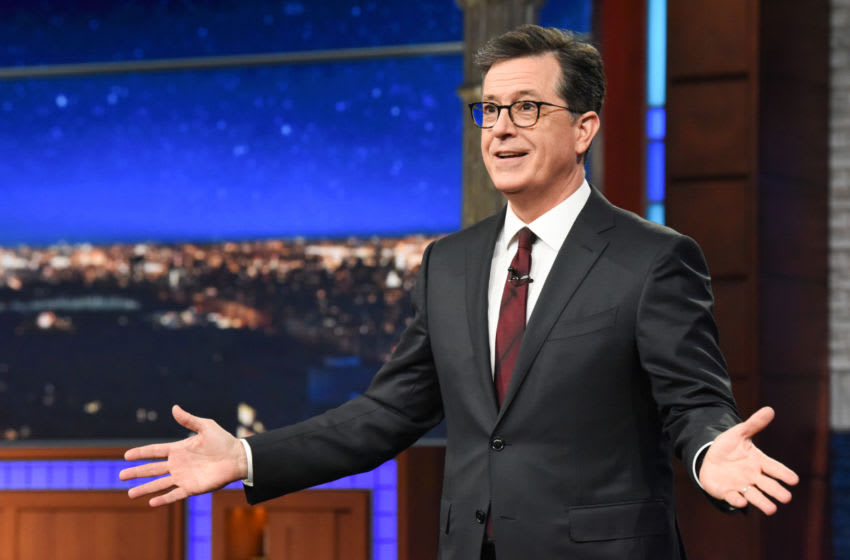 The Late Show with Stephen Colbert (Photo: Scott Kowalchyk/CBS ©2019 CBS Broadcasting Inc. All Rights Reserved.