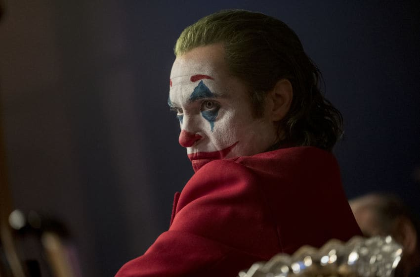 "JOAQUIN PHOENIX as Joker in Warner Bros. Pictures, Village Roadshow Pictures and BRON Creative's ""JOKER,"" a Warner Bros. Pictures release."