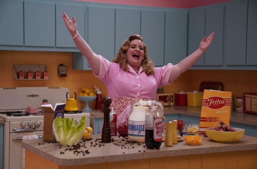 Aidy Bryant on Saturday Night Live (Photo by: Deanna Langis/NBC)