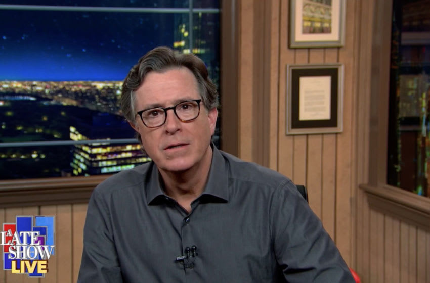 The Late Show with Stephen Colbert (CBS 2020 CBS Broadcasting Inc)