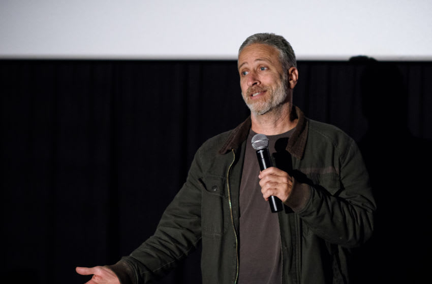 MONTCLAIR, NJ - MAY 07: Jon Stewart attends the Montclair Film Festival 2016 on May 7, 2016 in Montclair City. (Photo by Dave Kotinsky/Getty Images for Montclair Film Festival)