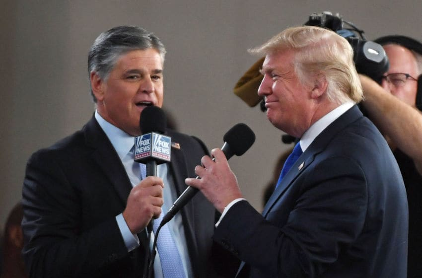 Sean Hannity and President Donald Trump (Photo by Ethan Miller/Getty Images)