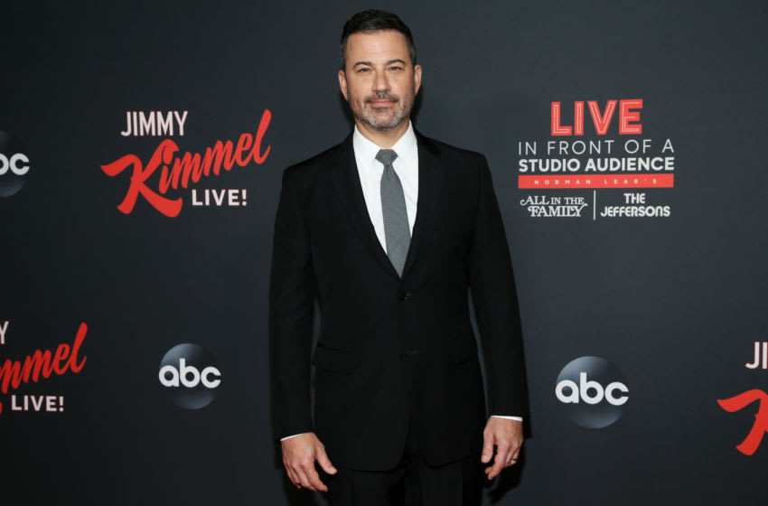 HOLLYWOOD, CALIFORNIA - AUGUST 07: Jimmy Kimmel attends an evening with Jimmy Kimmel at Hollywood Roosevelt Hotel on August 07, 2019 in Hollywood, California. (Photo by Phillip Faraone/Getty Images)